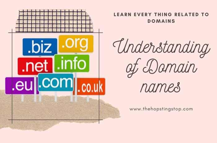 Understanding of Domain names