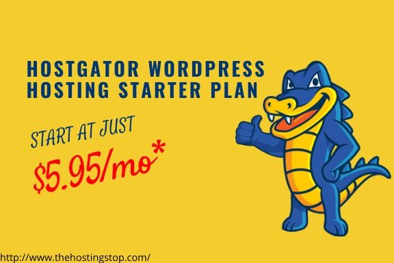 Hostgator wordpress hosting plan