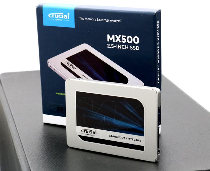 CRUCIAL MX500 2TB- Best SSD