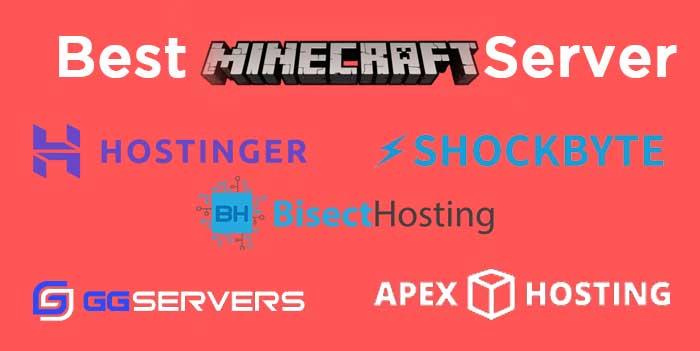 Top 5 Minecraft server hosting provider 2020