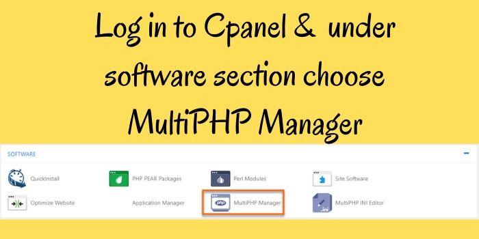 Hostgator PHP Update