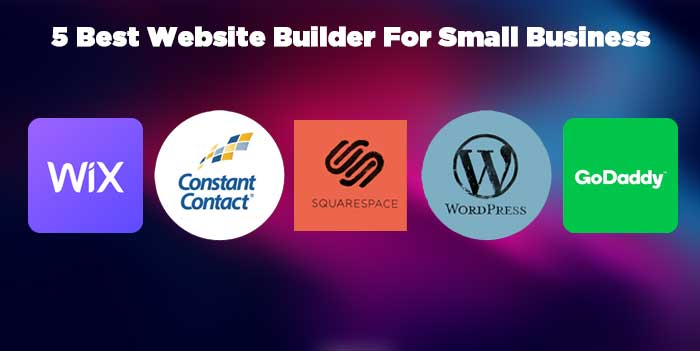 5 Best Website Builder For Small Bussiness
