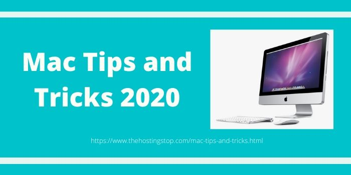 Mac Tips and Tricks 2020