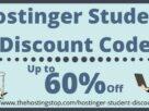 Hostinger Student Discount Code